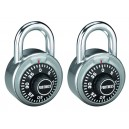 Fortress Combination Padlock 72pc Display