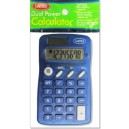 Dual Powered Pocket Calculator