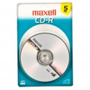 Maxell CD-R 5PK Card
