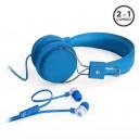 MQbix Ear Foam 2 in 1 Combo