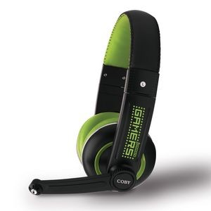 Coby Jammerz Gamer High Performance USB Headset w/Mic