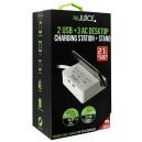 ReJuice 2 USB + 3 AC Desktop Charger