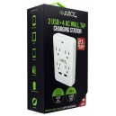 ReJuice 2 USB + 4 AC Wall Charging Station