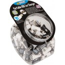Get Power 90pc BK&WH DC Charger Bowl