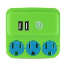 Uber 3 Outlet 2 USB Power Station