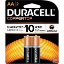 Duracell Coppertop AA  2 Pack (Case: 14/56)