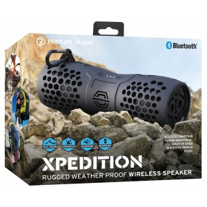 Replay Audio Xpedition Weather Proof Bluetooth Speaker