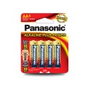 Panasonic AA 4PK Alkaline Plus Power Batteries