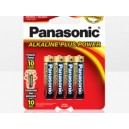 Panasonic AAA 4PK Alkaline Plus Power Batteries