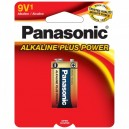 Panasonic 9V 1PK Alkaline Plus Power Batteries