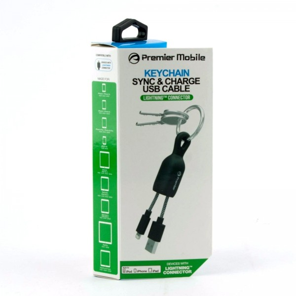 premier mobile keychain lightning cable university accessories. Black Bedroom Furniture Sets. Home Design Ideas