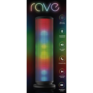 Replay Audio Prism LED Bluetooth Speaker