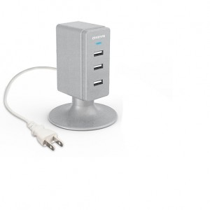 Overtime Charge Tower 3-Port USB Hub
