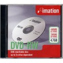 Imation DVD-RW in Jewel Case