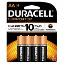 Duracell Coppertop AA  4 Pack (Case: 14/56)