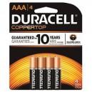 Duracell Coppertop AAA 4PK (Case: 18/54)